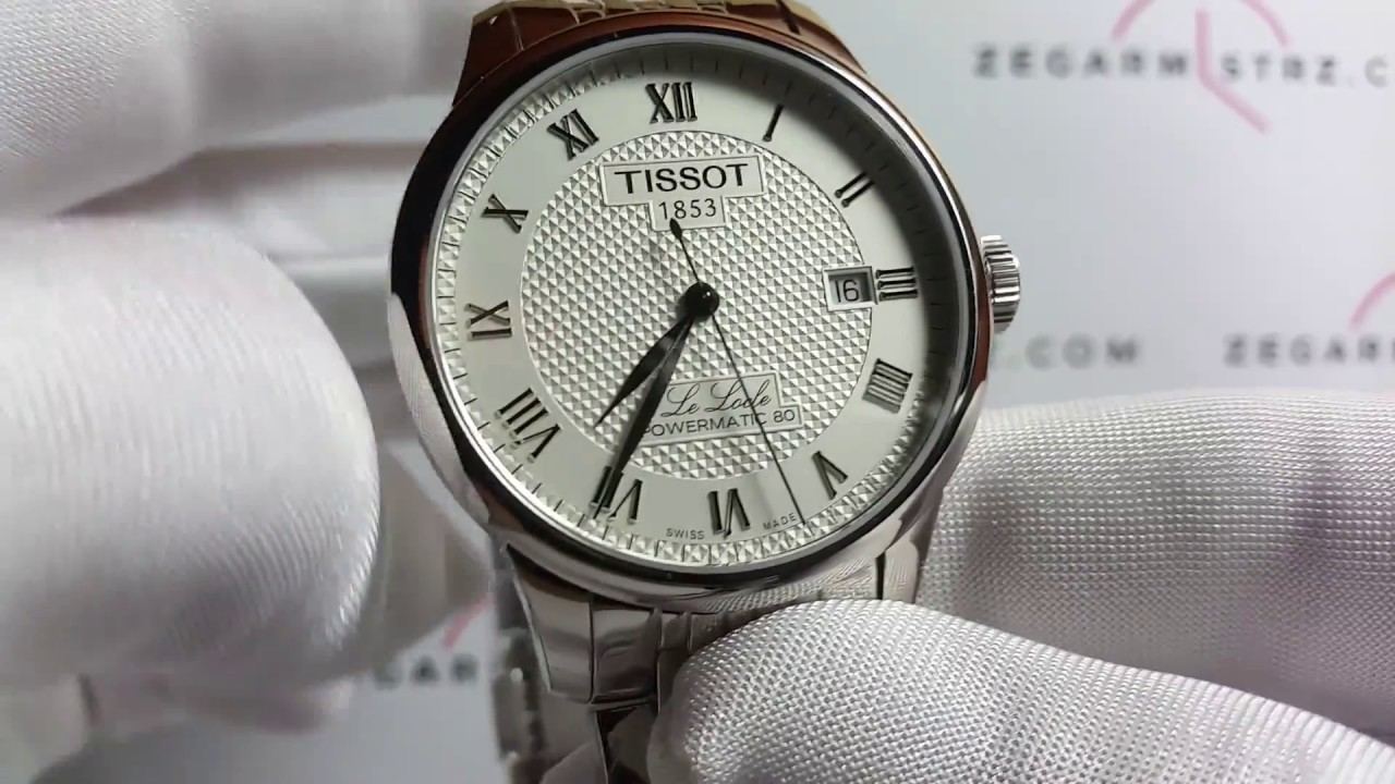 Zegarek Tissot Le Locle Powermatic 80 T006 407 11 033 00