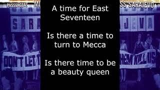 U2 Miss Sarajevo Lyrics.mp3