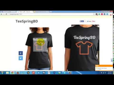 TeeSpring- What-Why-How to? [Bangla]