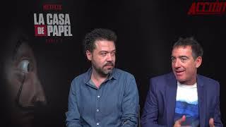 Entrevista Jesús Colmenar y Álex Pina nos hablan de La Casa de Papel