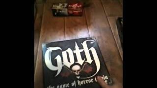 My collection o' horror themed board/card games