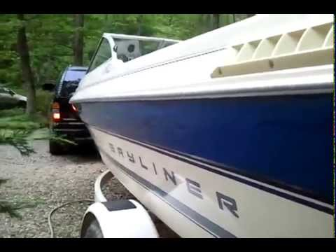 1994 bayliner capri 1950 3. 0 bowrider youtube.