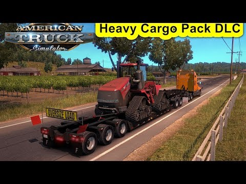 American Truck Simulator Day 25 | Heavy Cargo Pack DLC | Oversized Loads