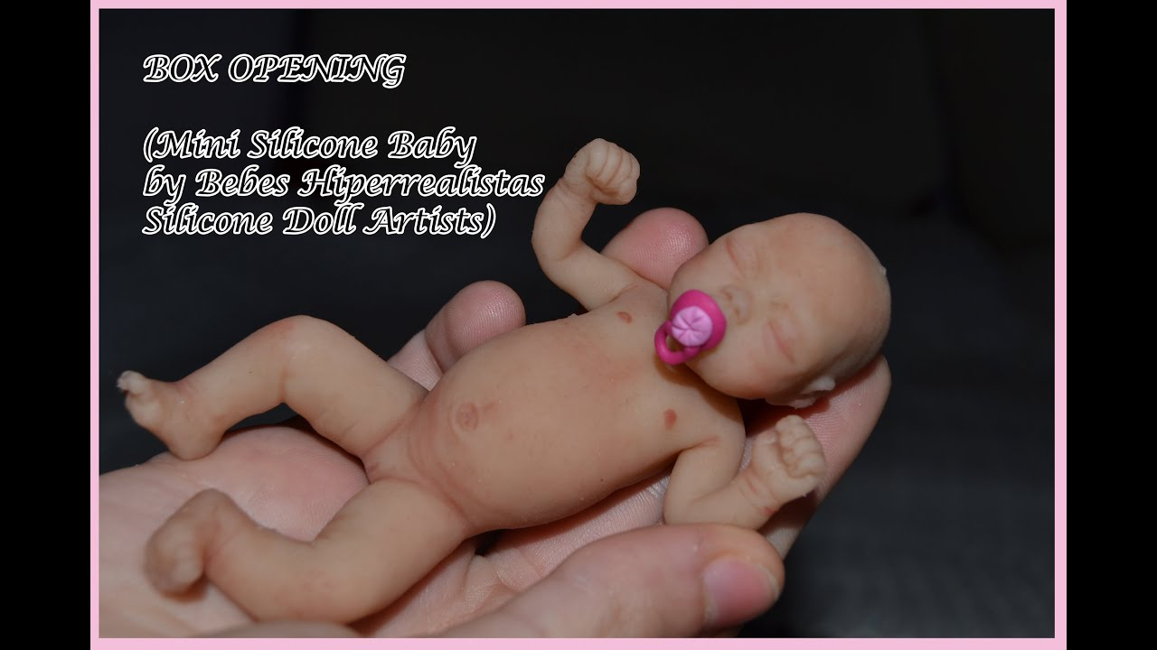 Full body silicone baby for sale 2015 - Box Opening Silicone Baby Doll 4 By Beb S Hiperrealistas Youtube