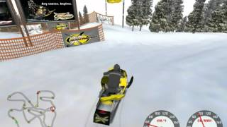 Ski doo X team Racing the 9 last bonus tracks