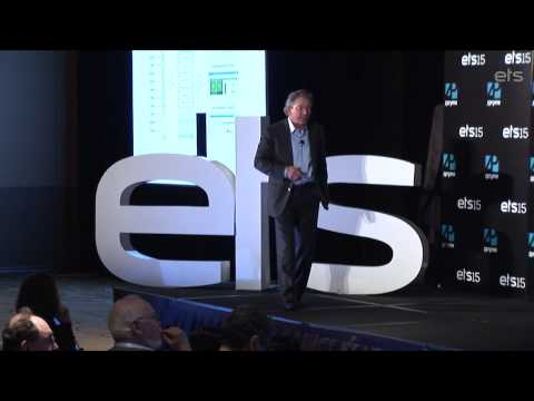 ETS15 Keynote: Thomas M. Siebel, C3 Energy, Future of Analytics