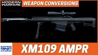 Barrett XM109 AMPR Weapon Conversions - Call Of Duty Modern Warfare