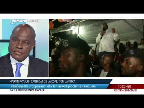 Présidentielle en RDC : les moments forts de l'actualité du 10/01/2019