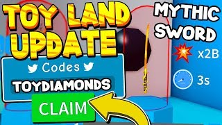 TOY LAND UPDATE CODE UND TOOLS IN UNBOXING SIMULATOR! Roblox