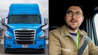 I rode a semi-autonomous truck at CES 2019