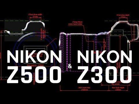 Nikon Z500 45MP MIRRORLESS & Nikon Z300 24MP MIRRORLESS Cameras