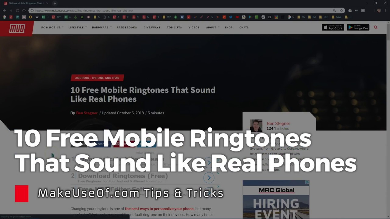 10 Free Mobile Ringtones That Sound Like Real Phones