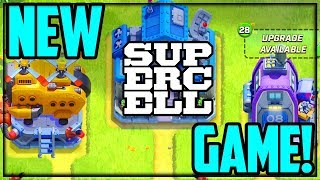 NEW SUPERCELL GAME! Rush Wars Gameplay - NOT Clash of Clans 2!