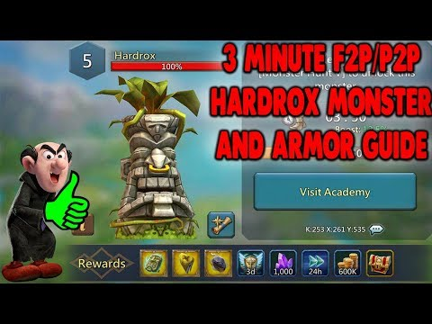 Hardrox Monster/Armor Guide - Lords Mobile