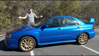 Here's Why the 2004 Subaru Impreza WRX STI Is an Icon