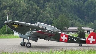 R/C Scale Model Airplane K+W C-36 - Aviation History of Switzerland
