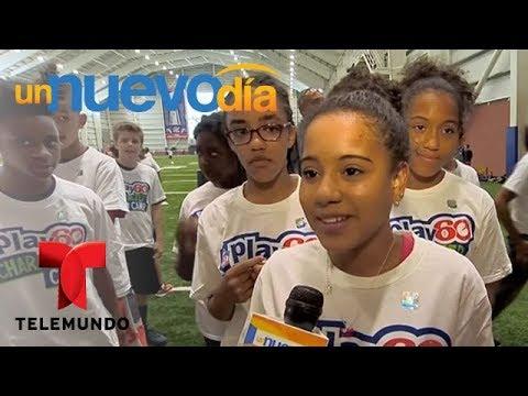 La NFL y Anthony Muñoz ayudan a los niños sin recursos | Un Nuevo Día | Telemundo