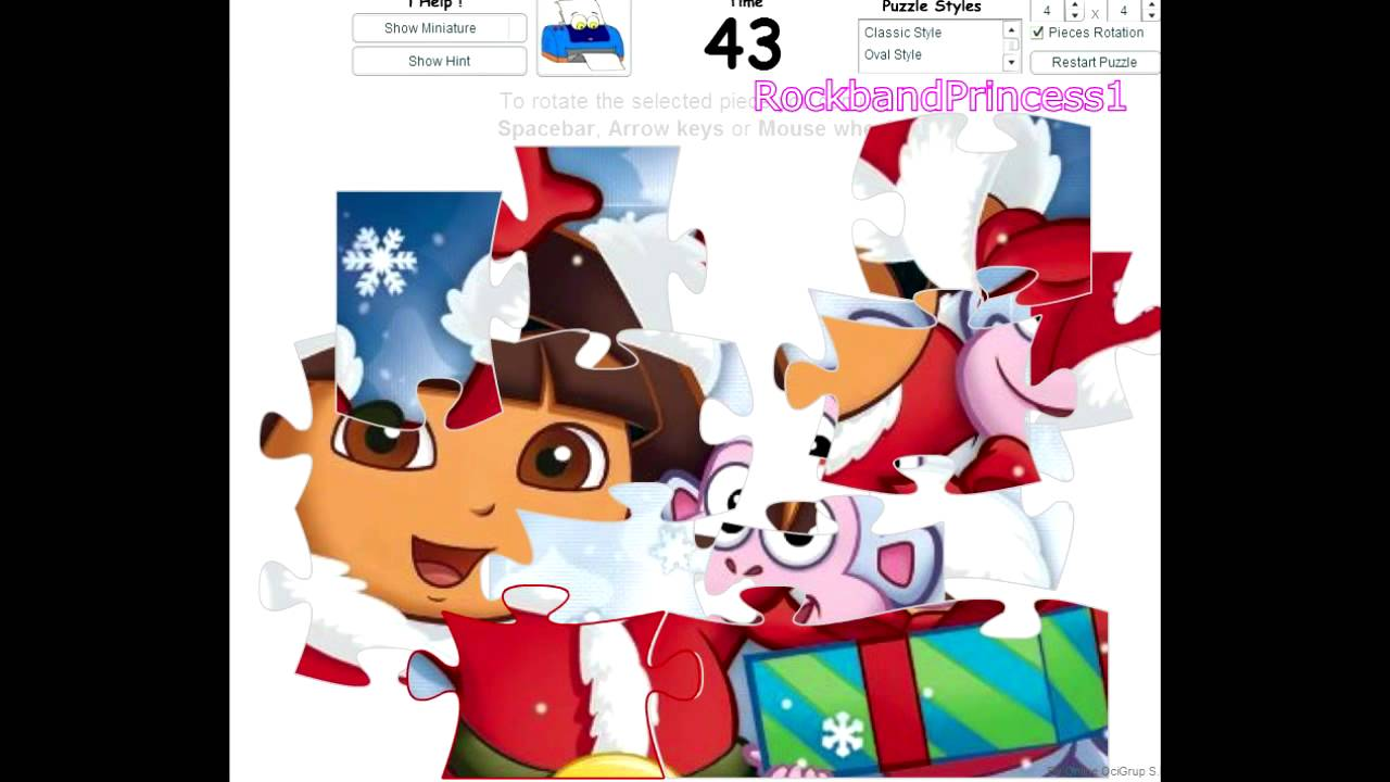 dora puzzles games online for free