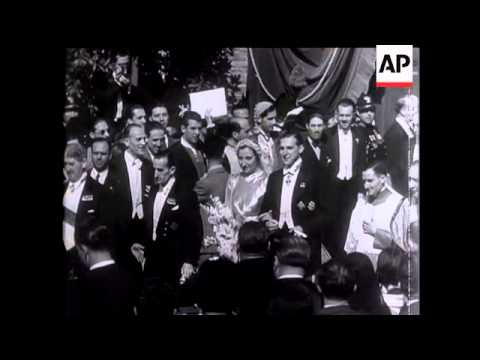 Spain's Two Royal Lines Are United At Rome Wedding - 1935