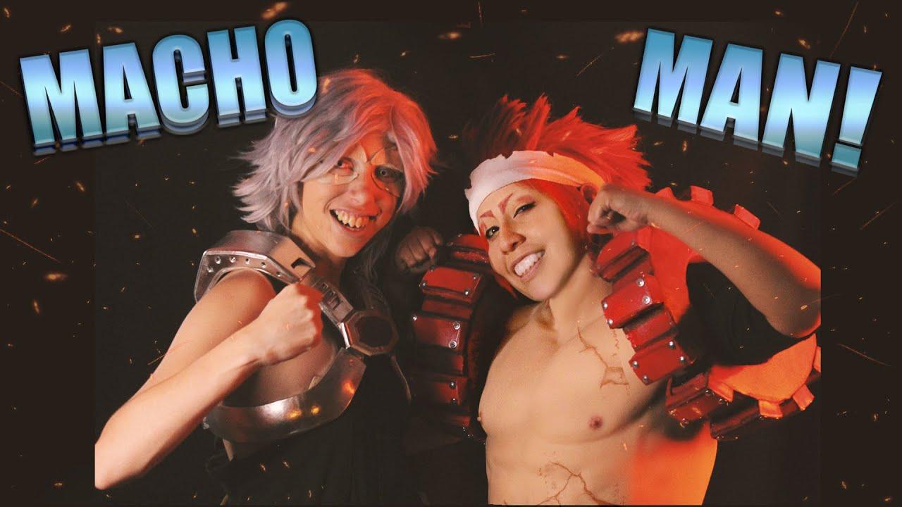 Download ¡MACHO MAN! 🤜💥 🤛-  Kirishima y TetsuTetsu ¡Especial de cumpleaños!【BNHA CMV】