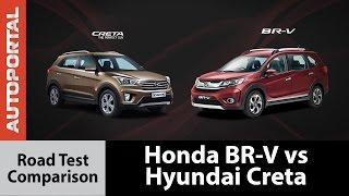 Honda BR-V vs Hyundai Creta Test Drive comparison - Autoportal