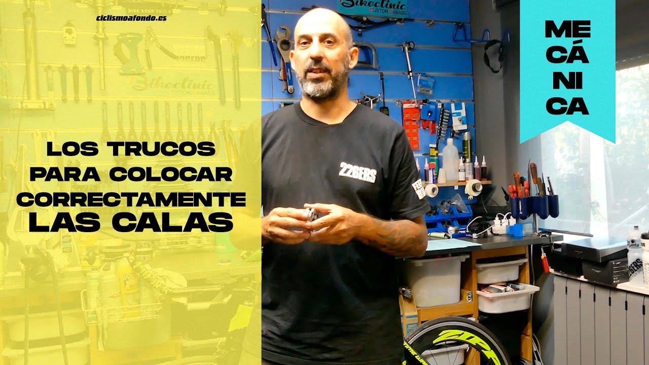 Los trucos para colocar correctamente las calas | Ciclismo a fondo