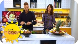 Dominiks Freitags-Challenge: Küchengeräte | SAT.1 Frühstücksfernsehen