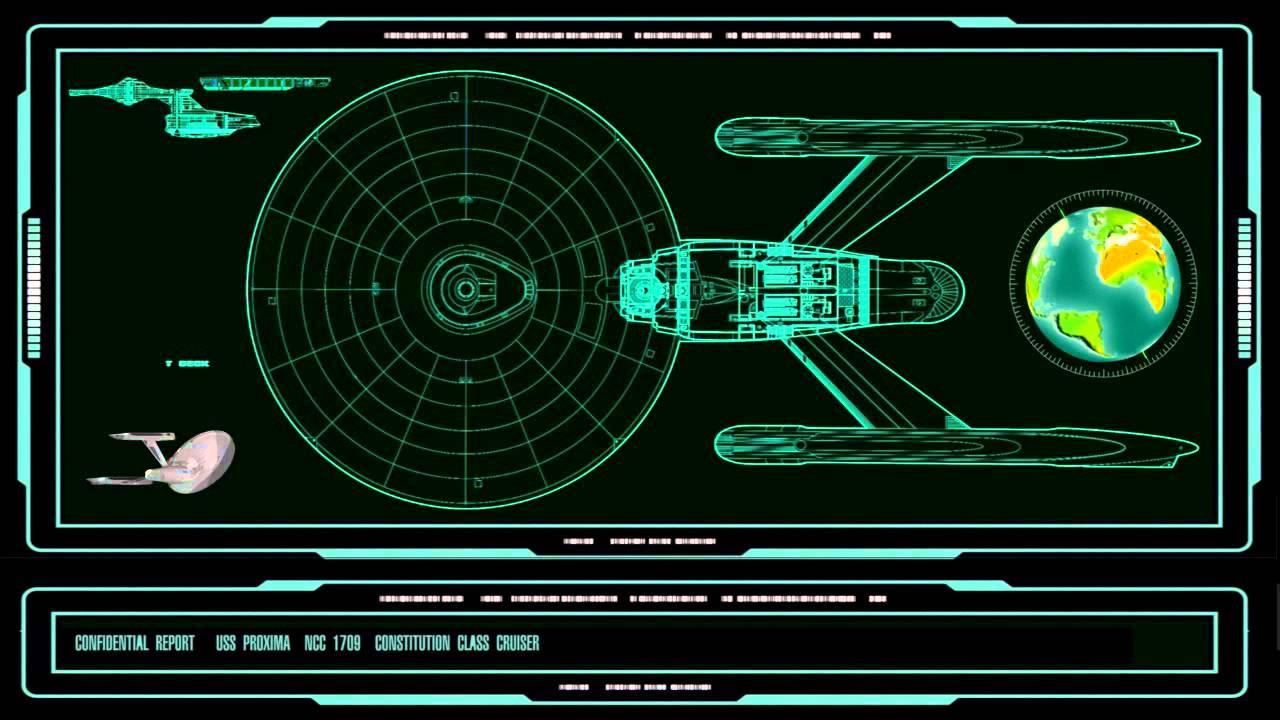 Star Trek Uss Enterprise Proxima Ncc A Deck By Deck