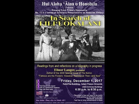 In Search of Queen Lili'uokalani