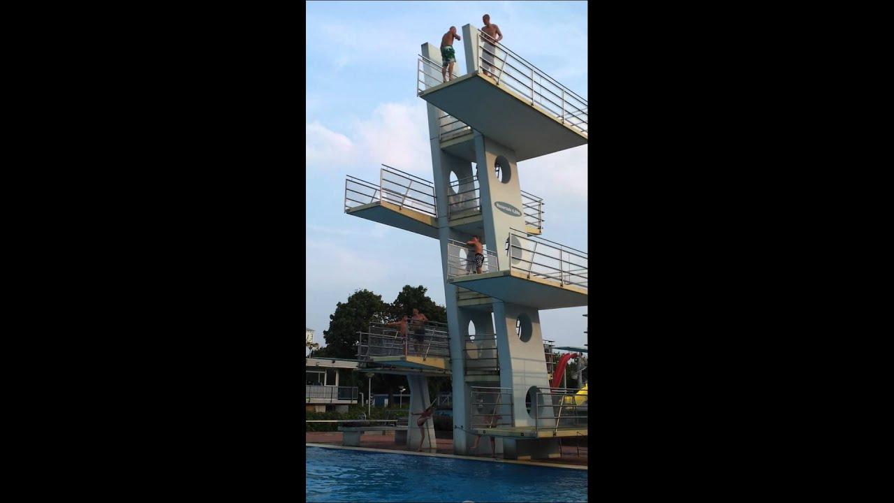 Muzkee backflip freibad nordhorn 10 meter youtube - Zwembad toren in kiezelsteen ...