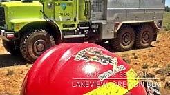 2018 Fire Season Lakeview Oregon