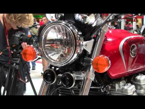 Honda CB1100 2013 Details & Interview - Intermot 2012
