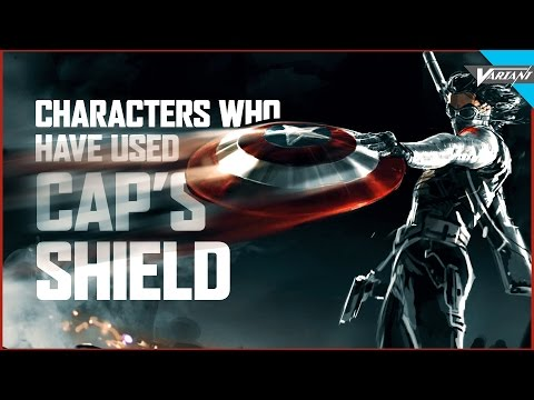 Characters Who've Used Captain America's Shield!