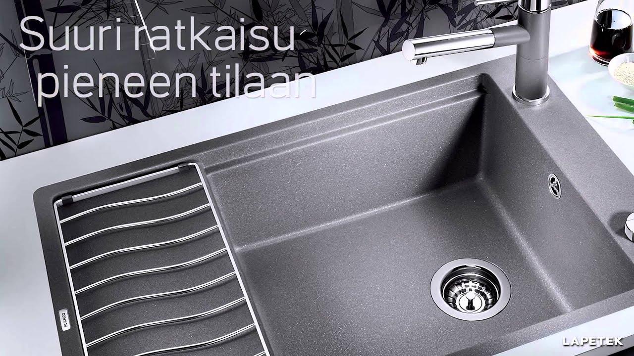 blanco kitchen sink storage solutions lapetek - elon youtube