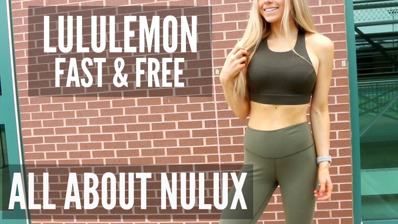 1bc0170ebc Lululemon Fast and Free Crop   Bra Review and Try On