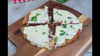 Quick potato and ham pizza: this recipe is very quick and useful for when you have little time to ma
