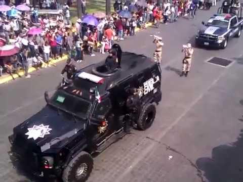 Desfile de la Independencia de Mexico en Monterrey 2017 parte 2