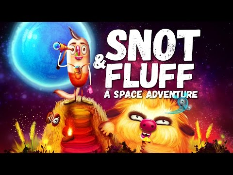 Snot & Fluff – An interactive story for children with features of an adventure game [Android/iOS]