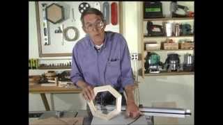 Building a Heptagon (7 sided) Frame