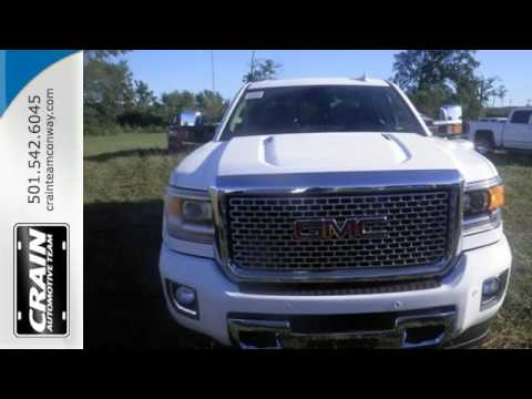 new 2016 gmc sierra 2500hd conway ar little rock ar 6gt8902 sold youtube. Black Bedroom Furniture Sets. Home Design Ideas
