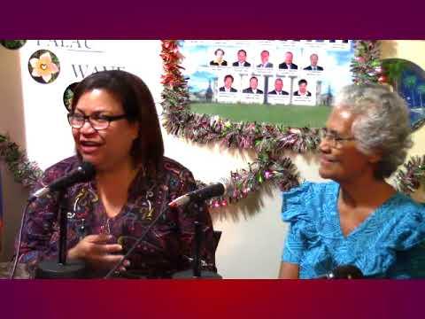 Koror Evangelical Church Choir on New Years Day (January 1, 2018)