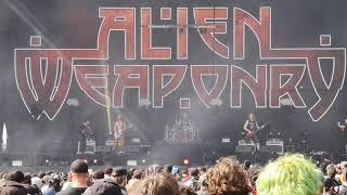 Hellfest 2019 - Alien Weaponry - Ahi Ka Resimi
