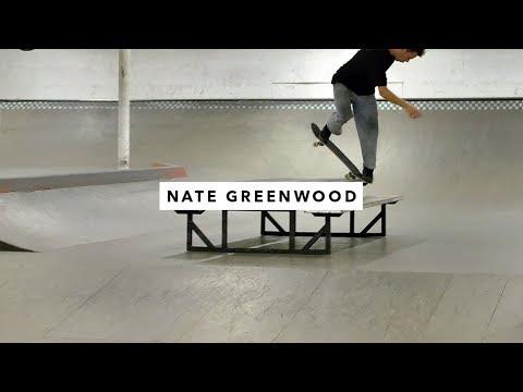 Nate Greenwood, Alec Spinosi, Vincent Milou, Vincent Matheron in the TWS Park