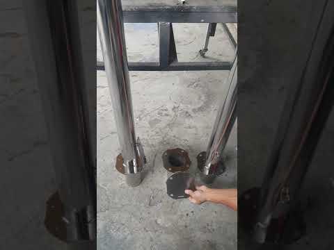 龍鼎金屬◆不銹鋼快拆車阻◆立柱型
