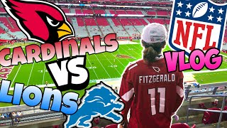 WHAT A COMEBACK!! Cardinals vs Lions Gameday Vlog. *I lost my mind.