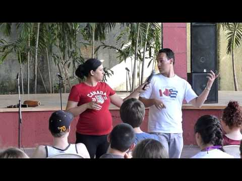 INTERACTIVE PERCUSSION WORKSHOP IN CUBA