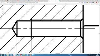 Solidworks. Урок 20.1 Простановка РЕЗЬБЫ по ГОСТ ЕСКД - создание чертежа