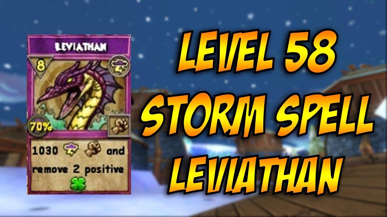 Leviathan - Wizard101: Storm Walkthrough by KvExperiences