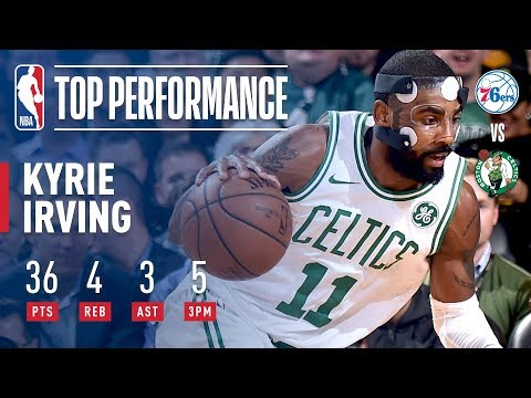Kyrie Irving Puts Up 36 Points vs. 76ers   November 30, 2017