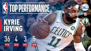 Kyrie Irving Puts Up 36 Points vs. 76ers | November 30, 2017